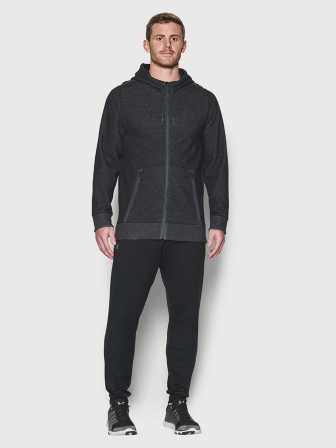 Mikina Under Armour Coldgear Varsity FZ Hoodie (3)