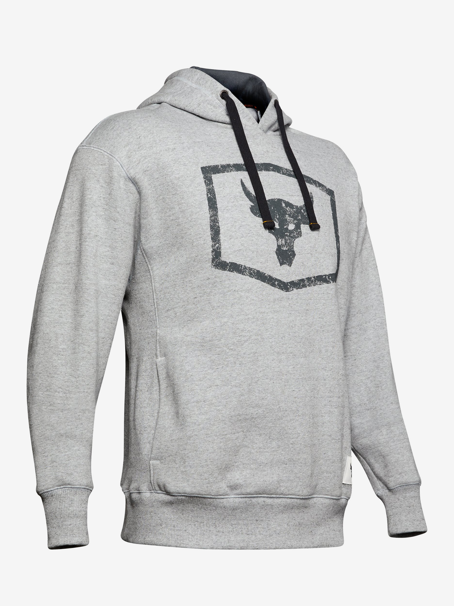 Mikina Under Armour Project Rock Warmup Top-Gry Šedá