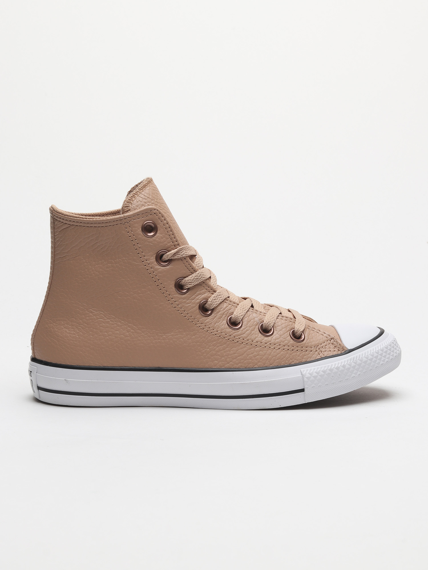 Topánky Converse Chuck Taylor All Star Leather Hnedá