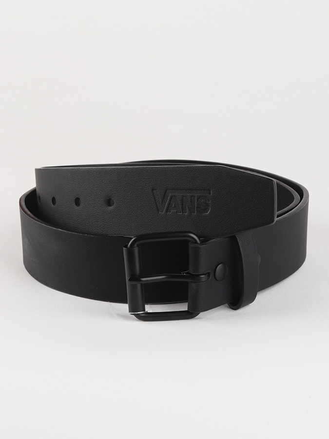 Opasok Vans Mn Hunter Ii Pu Belt Black (1)