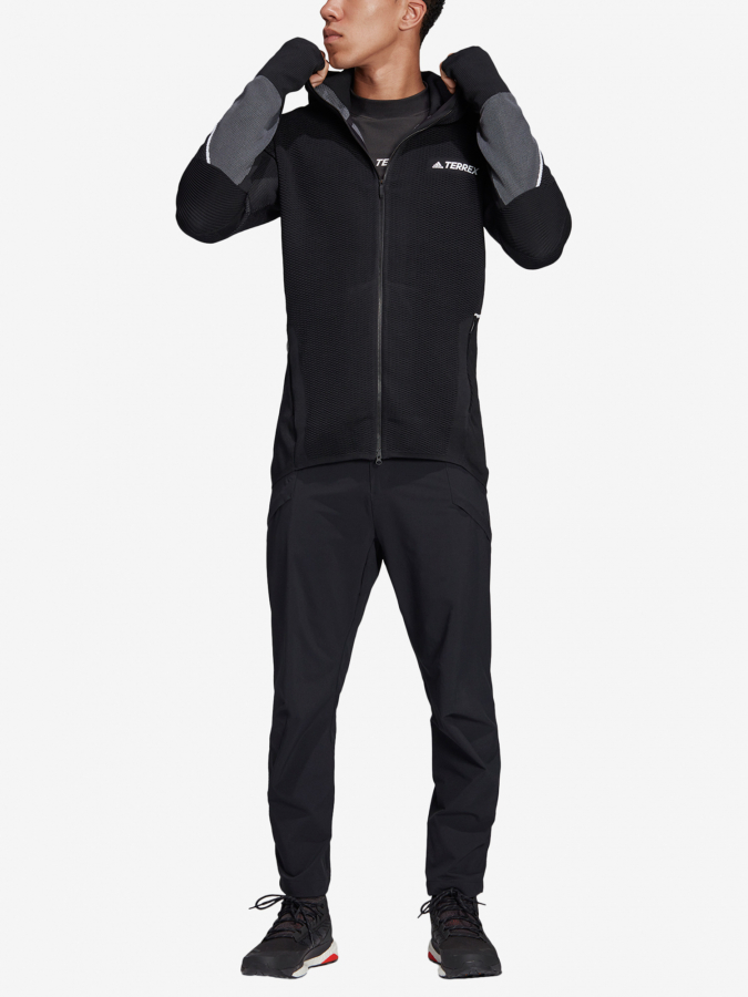 Mikina adidas Performance Pknit Midlayer (9)