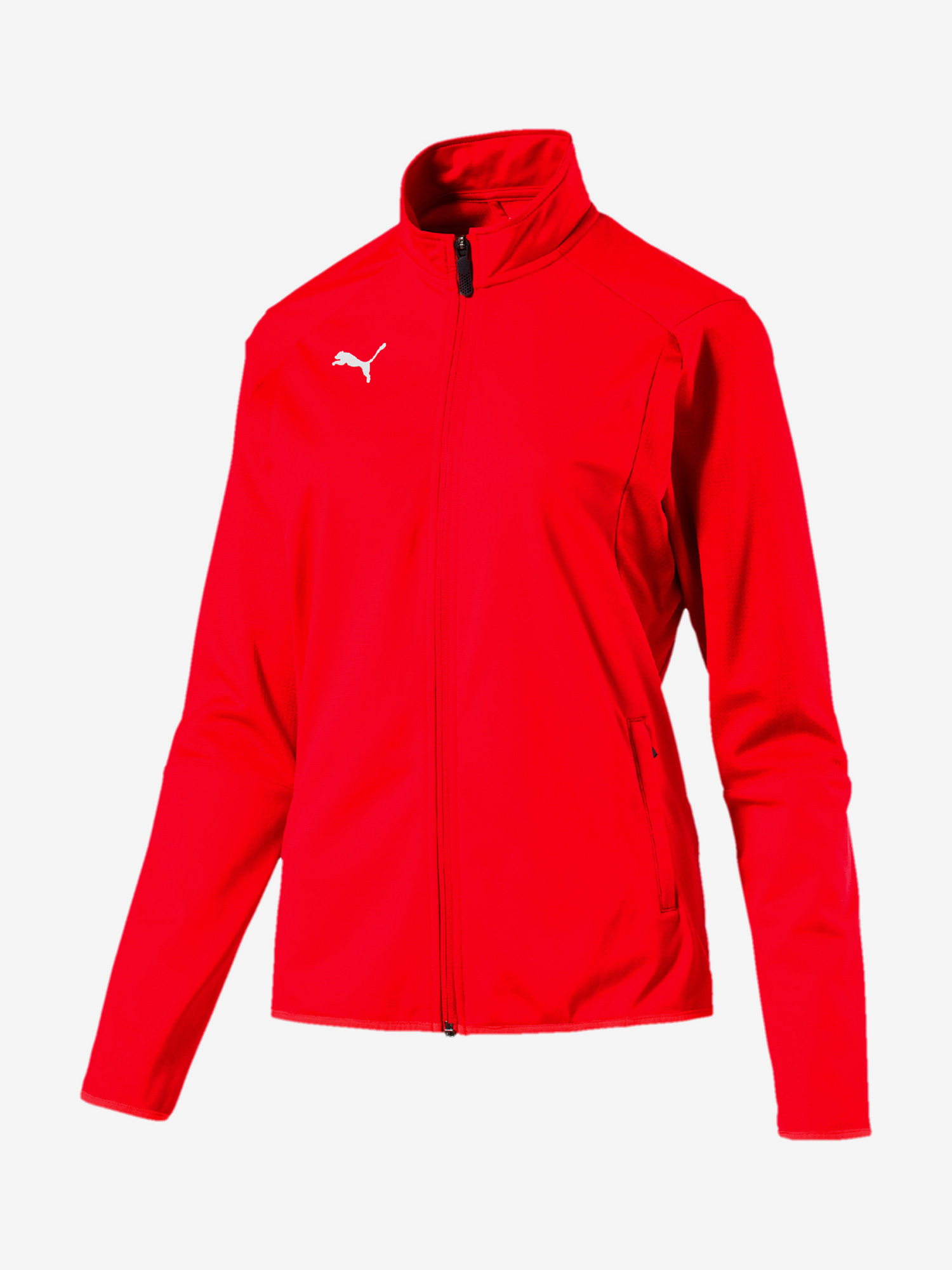 Bunda Puma Liga Training Jacket W Červená