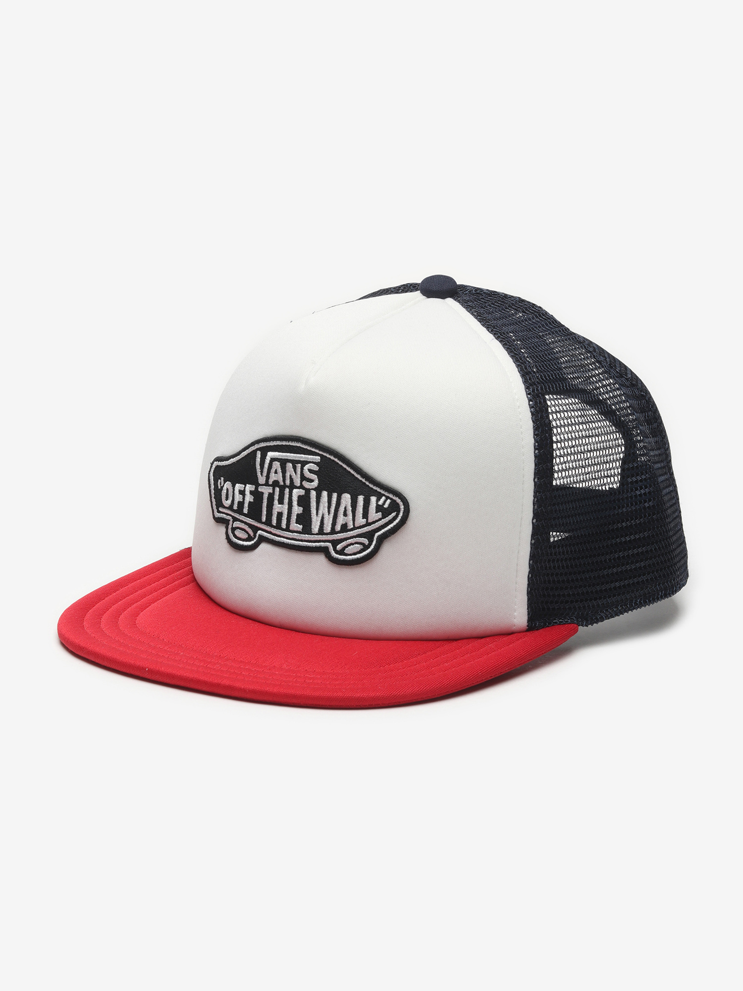 Šiltovka Vans Mn Classic Patch Tru Racing Red/White Farebná