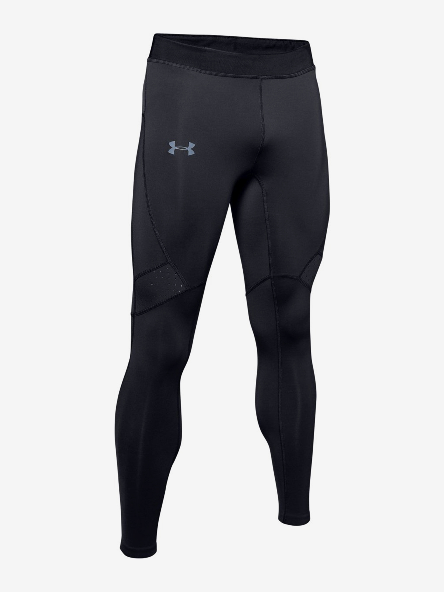 Kompresné legíny Under Armour Qualifier Coldgear Tight-Blk (3)