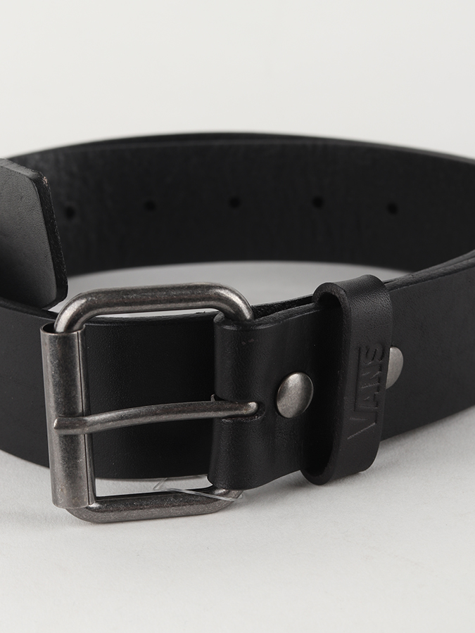 Opasok Vans Mn Vans Leather Belt Black (2)