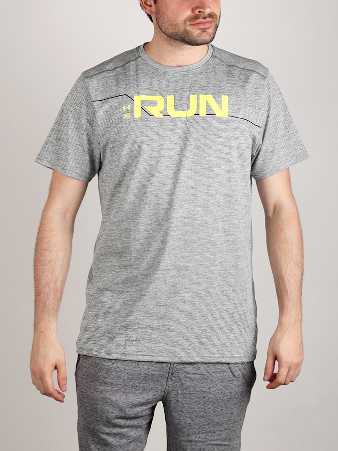 Tričko Under Armour Run Front Graphic SS (1)