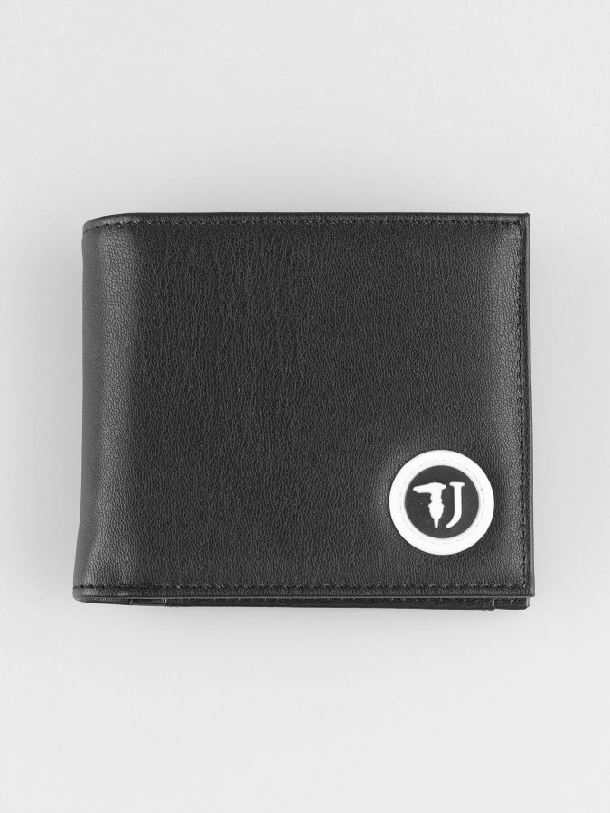 Peňaženka Trussardi T-Cube Wallet Coin Ecoleather-Rubber Patch (1)