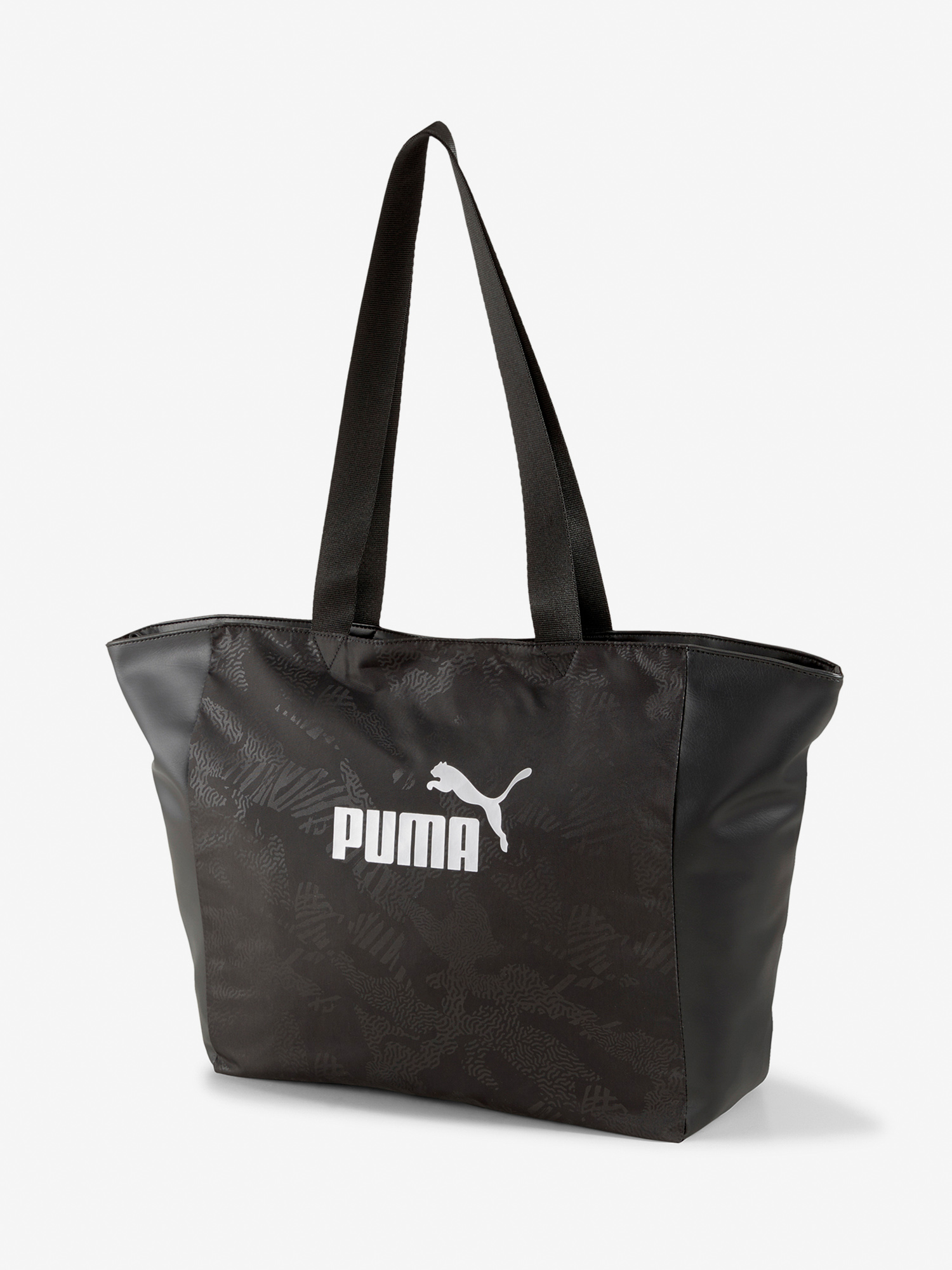 Kabelka Puma Wmn Core Up Large Shopper Čierna