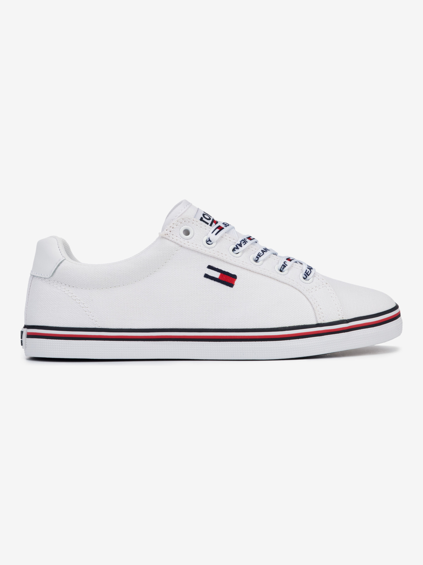 Essential Lace Up Tenisky Tommy Jeans Biela