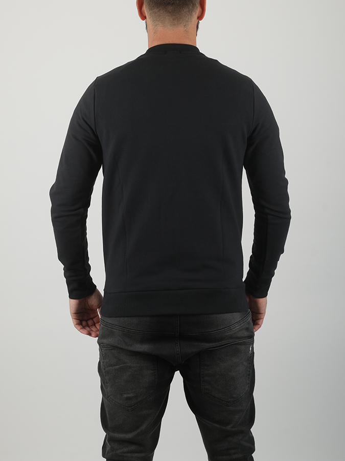 Mikina Oakley Link Crew Fleece Blackout (2)