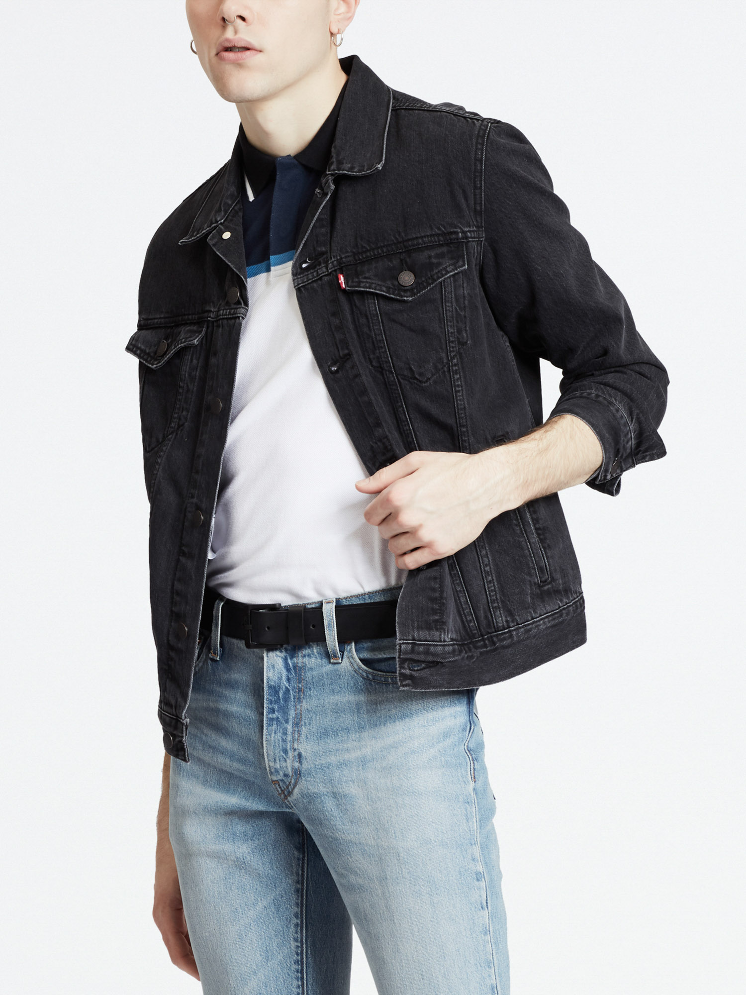 Bunda LEVI'S The Trucker Jacket Liquorice T (1)
