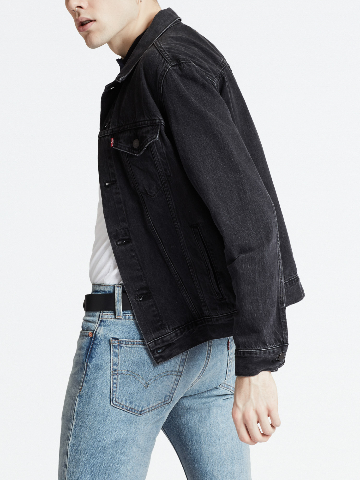 Bunda LEVI'S The Trucker Jacket Liquorice T (2)