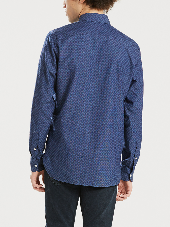Košeľa Levi's® Sunset 1 Pocket Shirt Caspia Dark Indig (2)