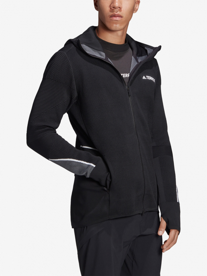 Mikina adidas Performance Pknit Midlayer (6)