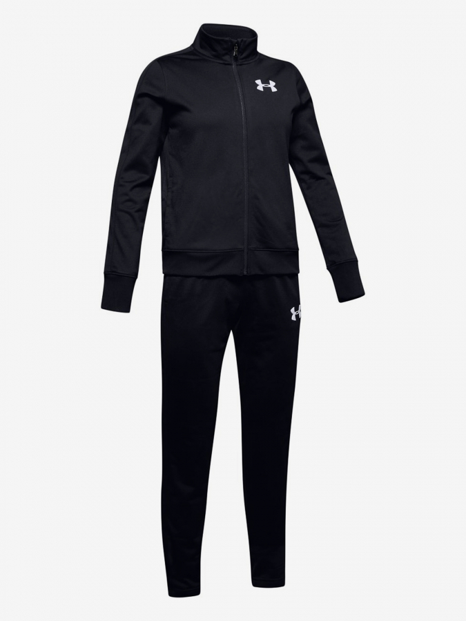 Súprava Under Armour Em Knit Track Suit-Blk (1)