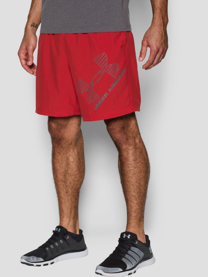 Kraťasy Under Armour 8 Woven Graphic Short (1)