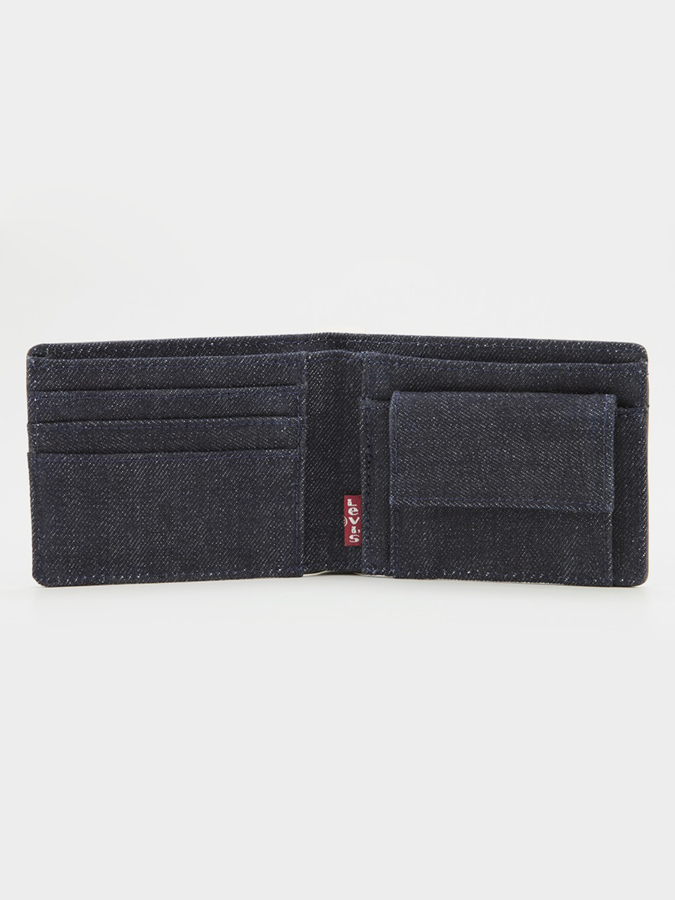 Peňaženka LEVI'S Denim/Leather Bifold With Coin (2)