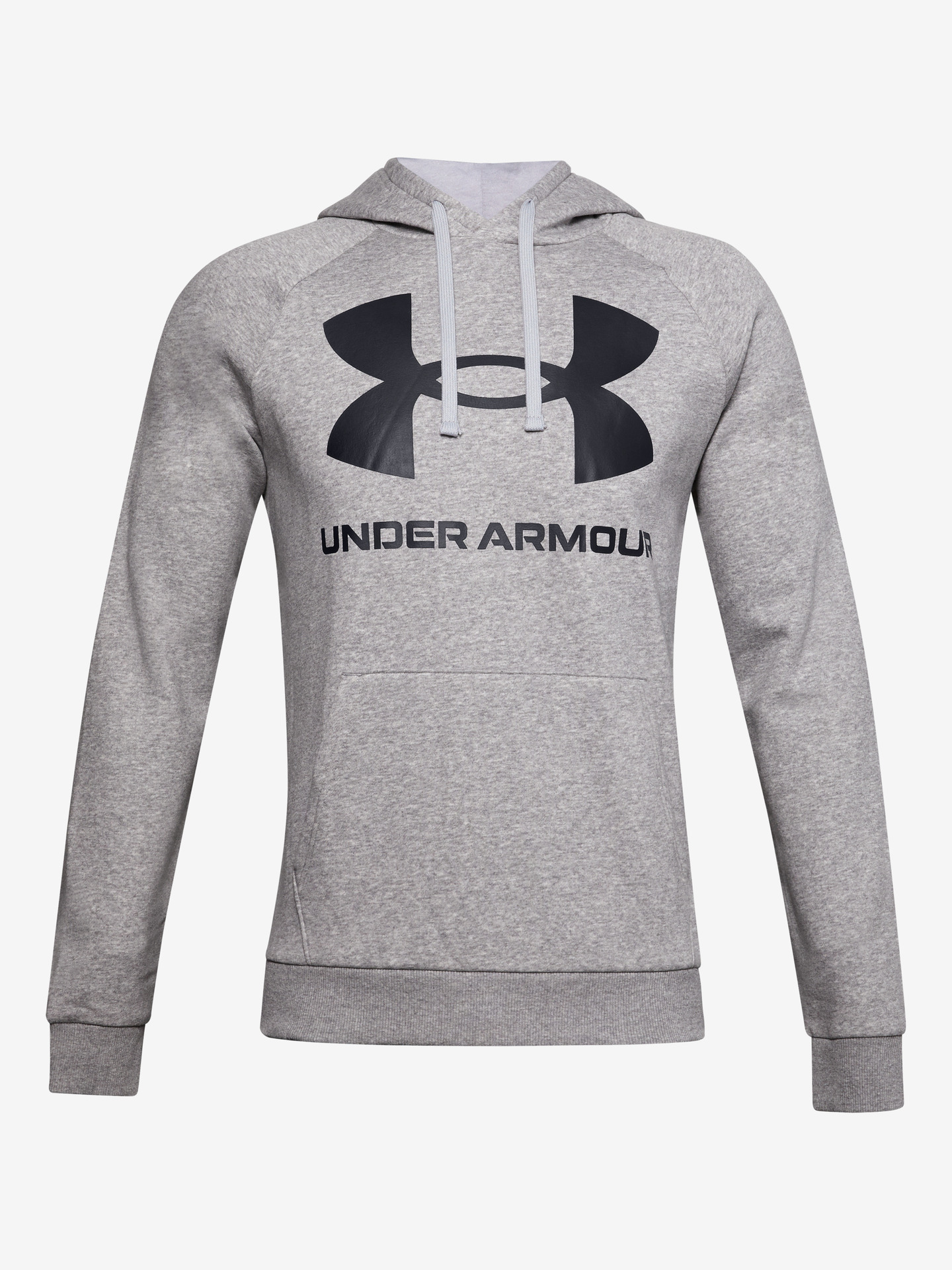 Rival Fleece Big Logo Mikina Under Armour Šedá