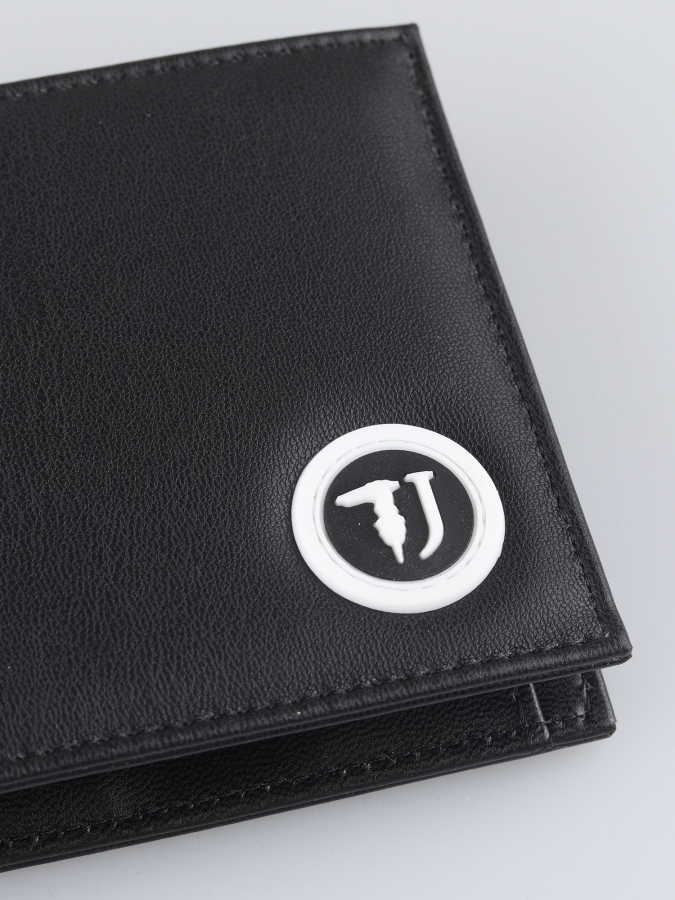Peňaženka Trussardi T-Cube Wallet Coin Ecoleather-Rubber Patch (2)