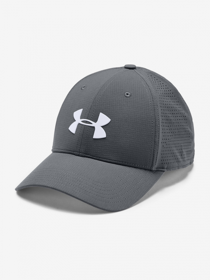 Šiltovka Under Armour Men'S Driver Cap 3.0-Gry (1)