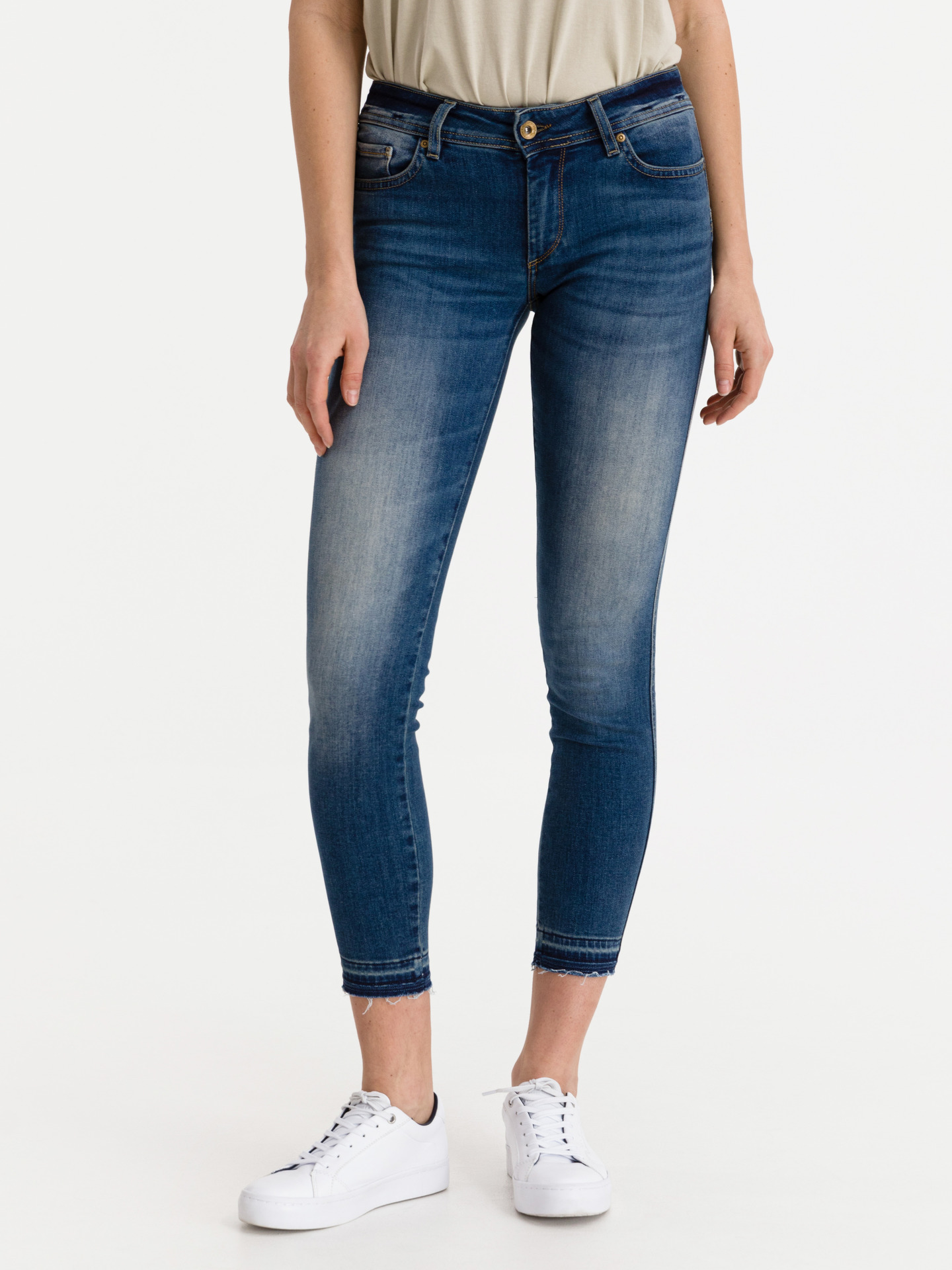 Wonder Push Up Jeans Salsa Jeans Modrá