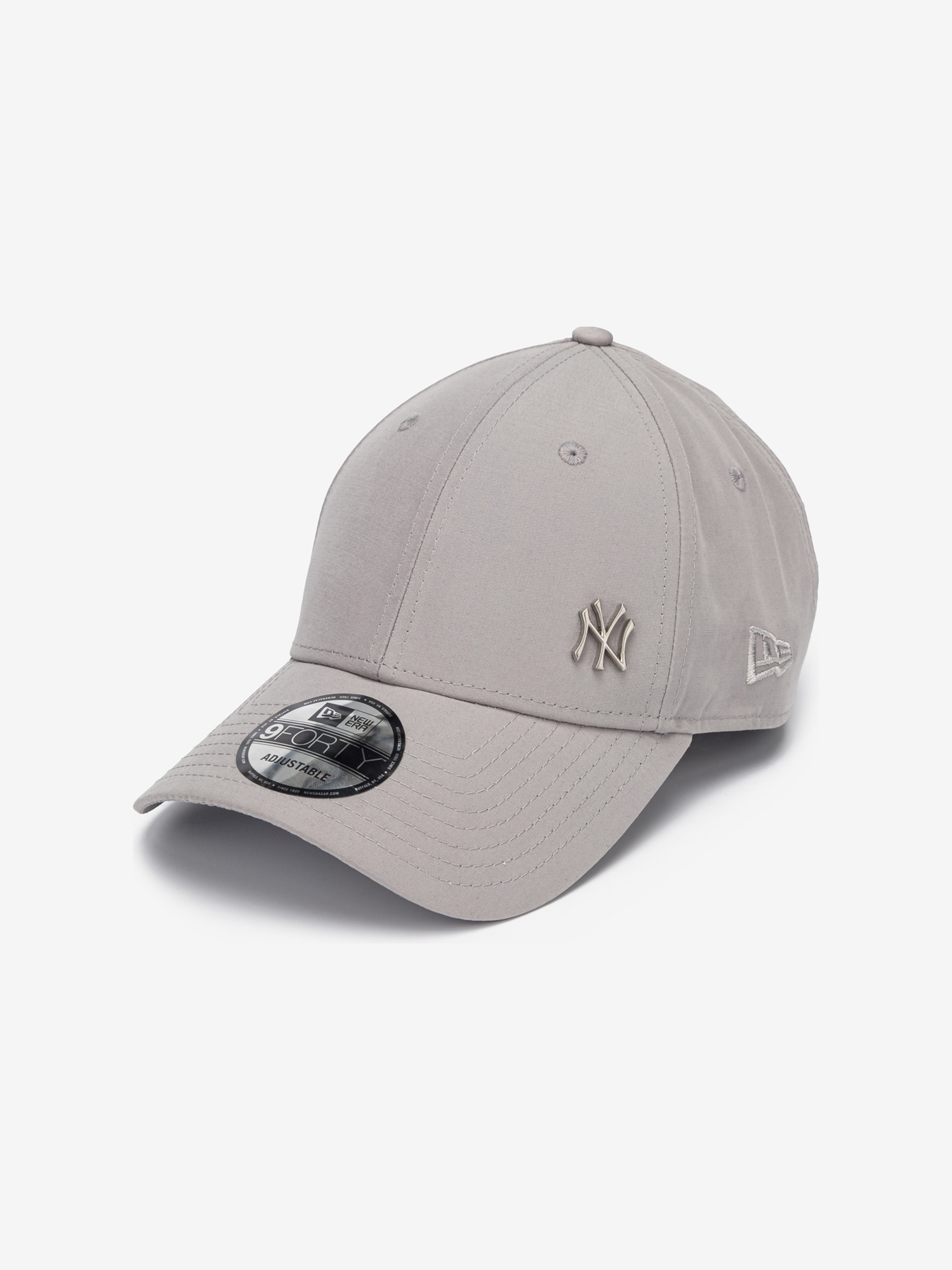 New York Yankees Flawless Grey 9Forty Kšiltovka New Era Šedá