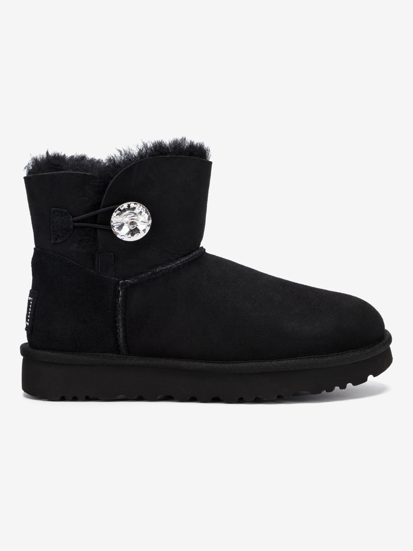 Mini Bailey Button Bling Snehule UGG Čierna