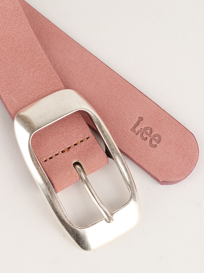 Opasok Lee Colourful Nubuck Bel Faded Pink (2)