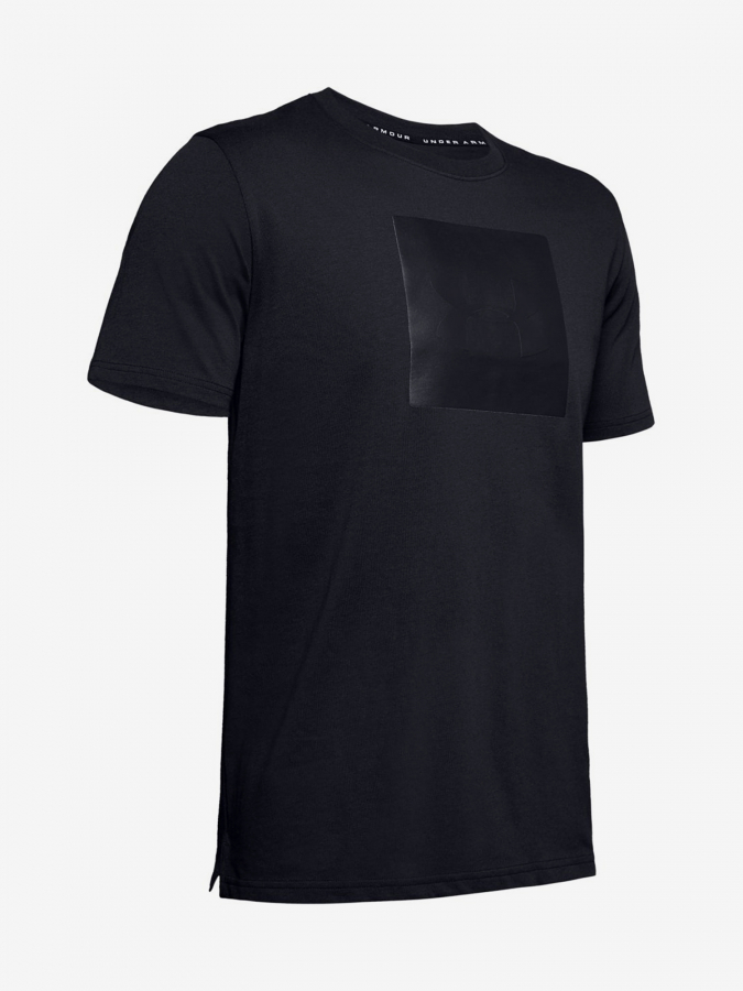 Tričko Under Armour Unstoppable Knit Tee-Blk (3)