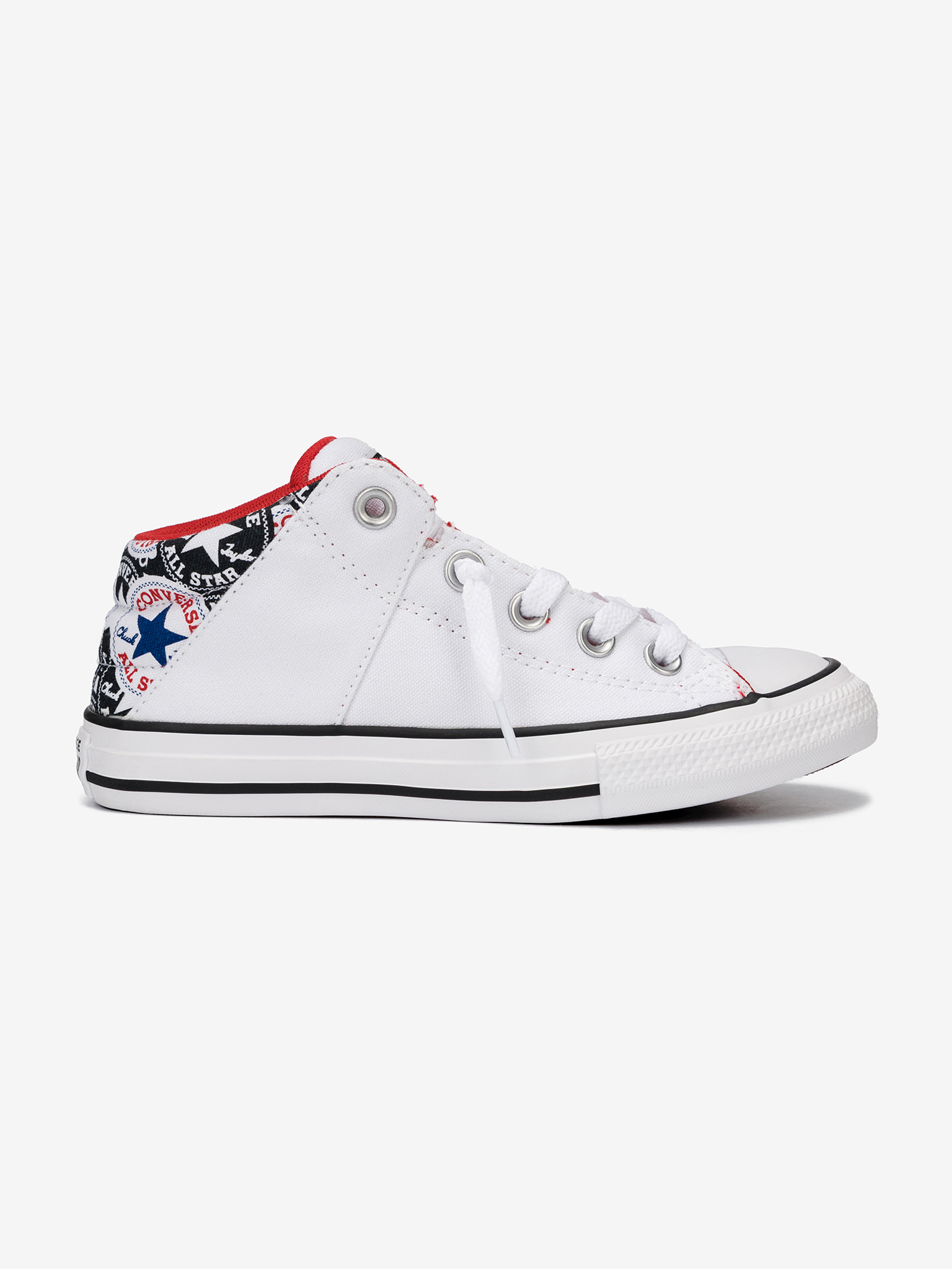 Topánky Converse Chuck Taylor All Star Axel Mid Biela
