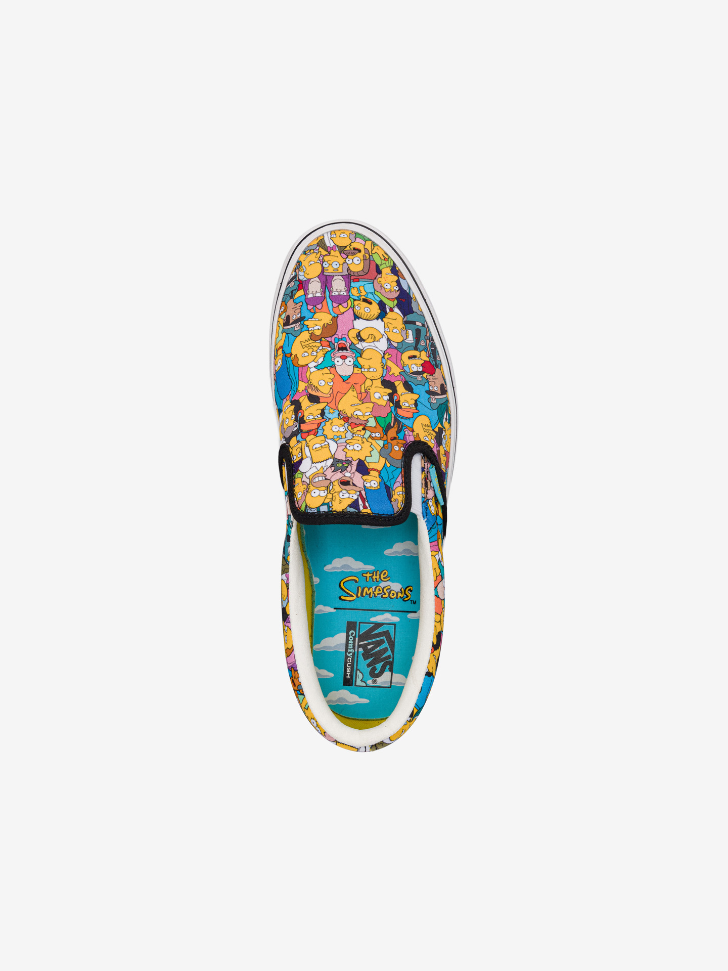 The Simpsons Comfycush Springfield Slip On Vans (4)