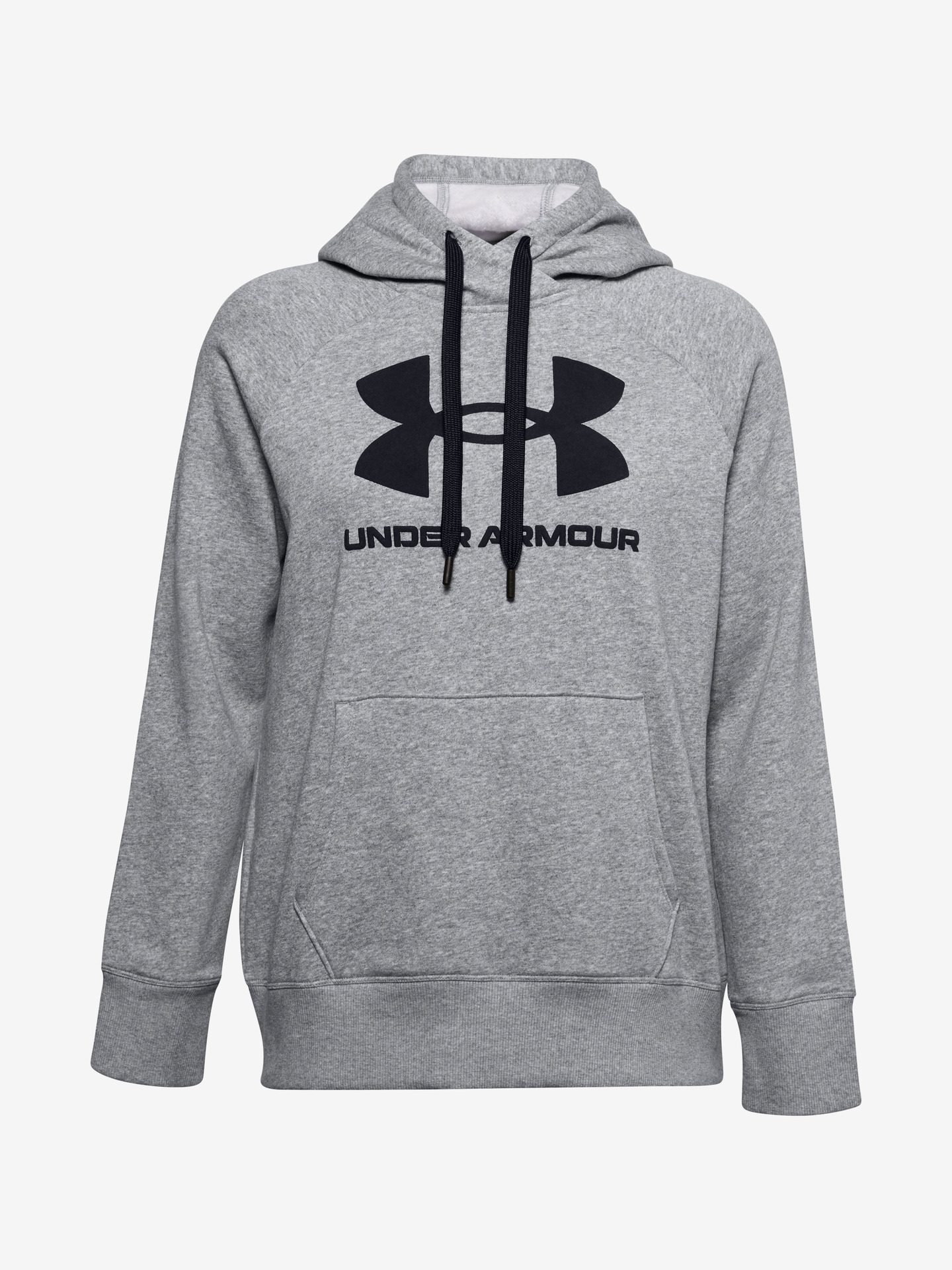 Rival Fleece Logo Mikina Under Armour Šedá