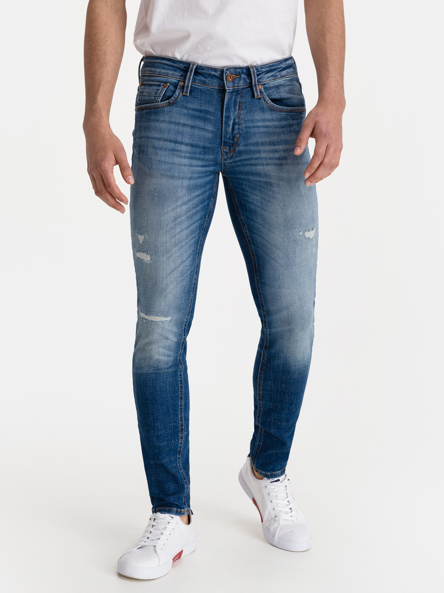 Liam Seal Jos Jeans Jack   Jones Modrá