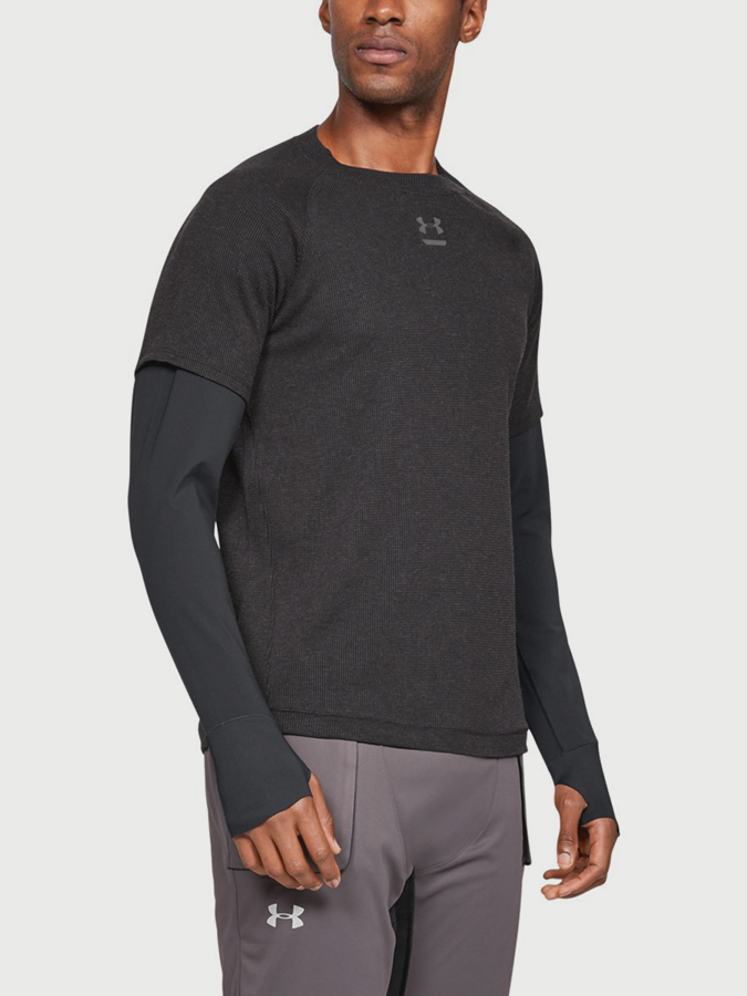 Tričko Under Armour Run Performance Waffle Ls (1)