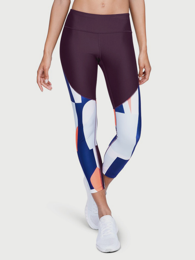 Kompresné legíny Under Armour Balance Printed Crop (1)