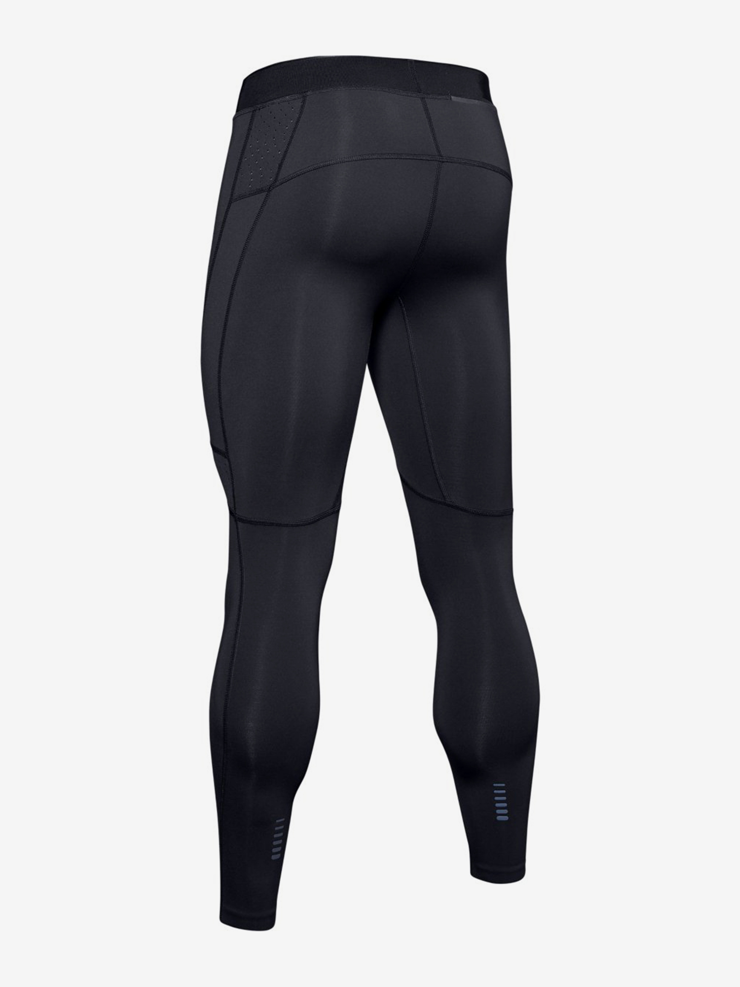 Kompresné legíny Under Armour Qualifier Coldgear Tight-Blk (4)