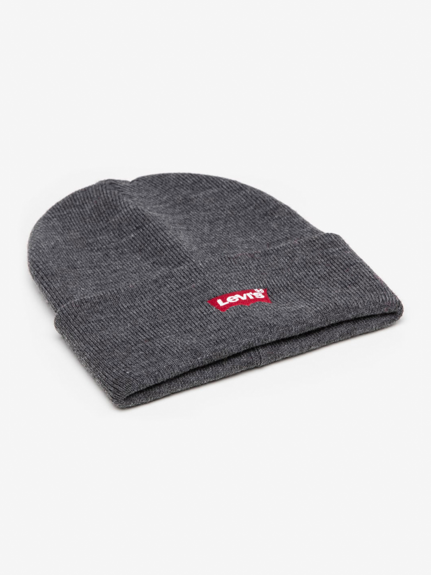 Čapica LEVI'S Red Batwing Embroidered Slouchy Beanie (1)