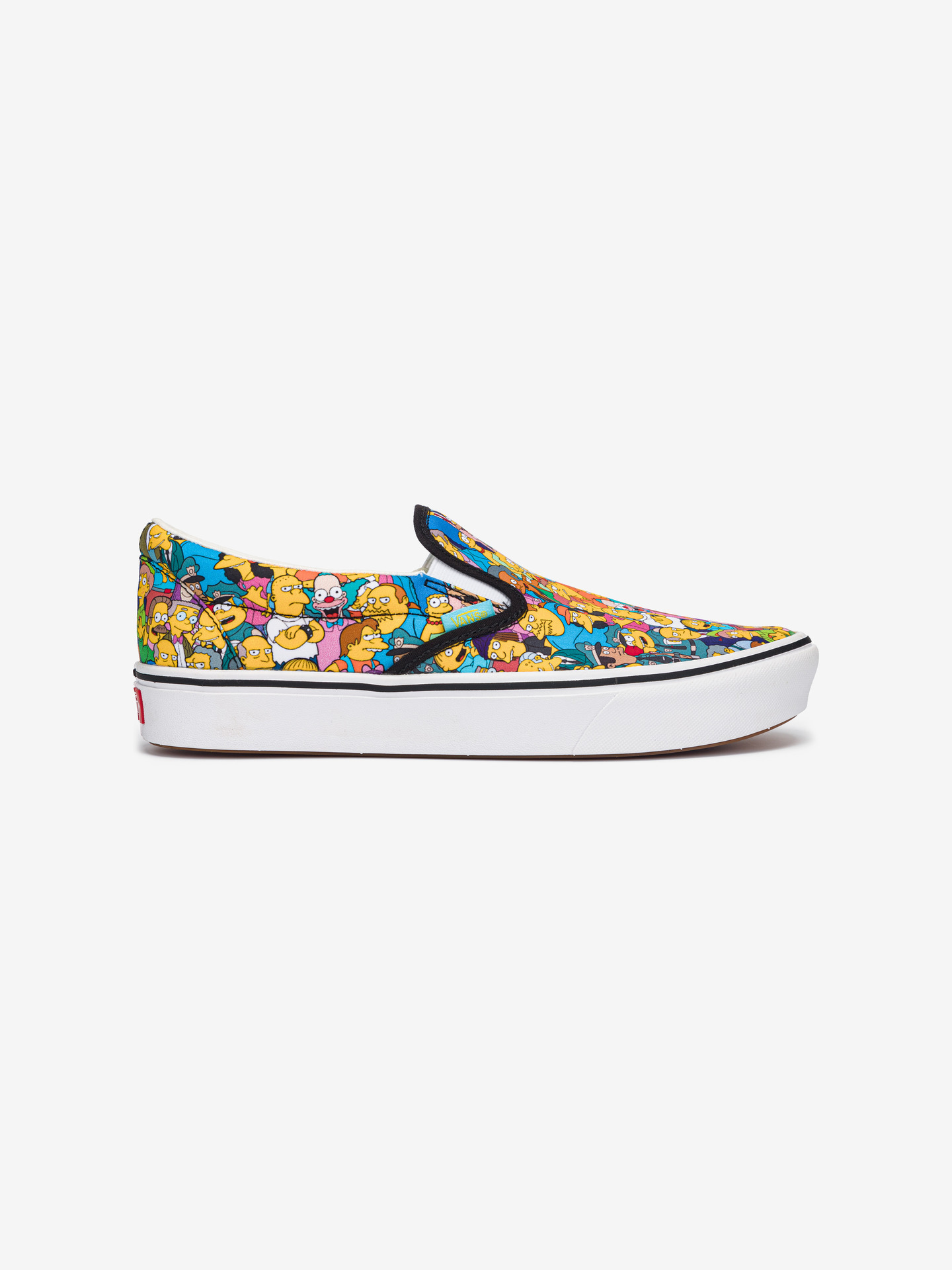 The Simpsons Comfycush Springfield Slip On Vans (1)