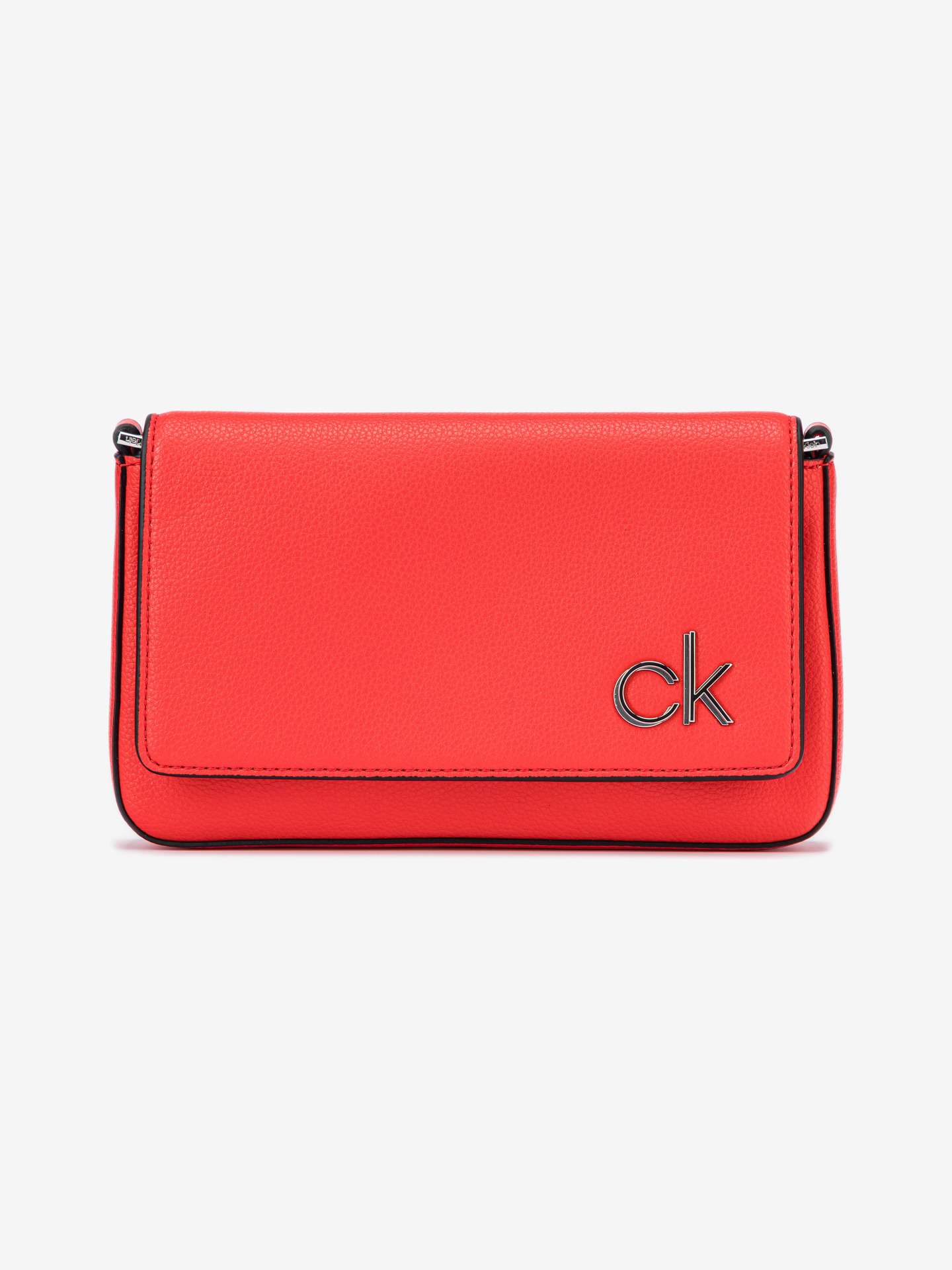 Ew Flap Cross body bag Calvin Klein Červená