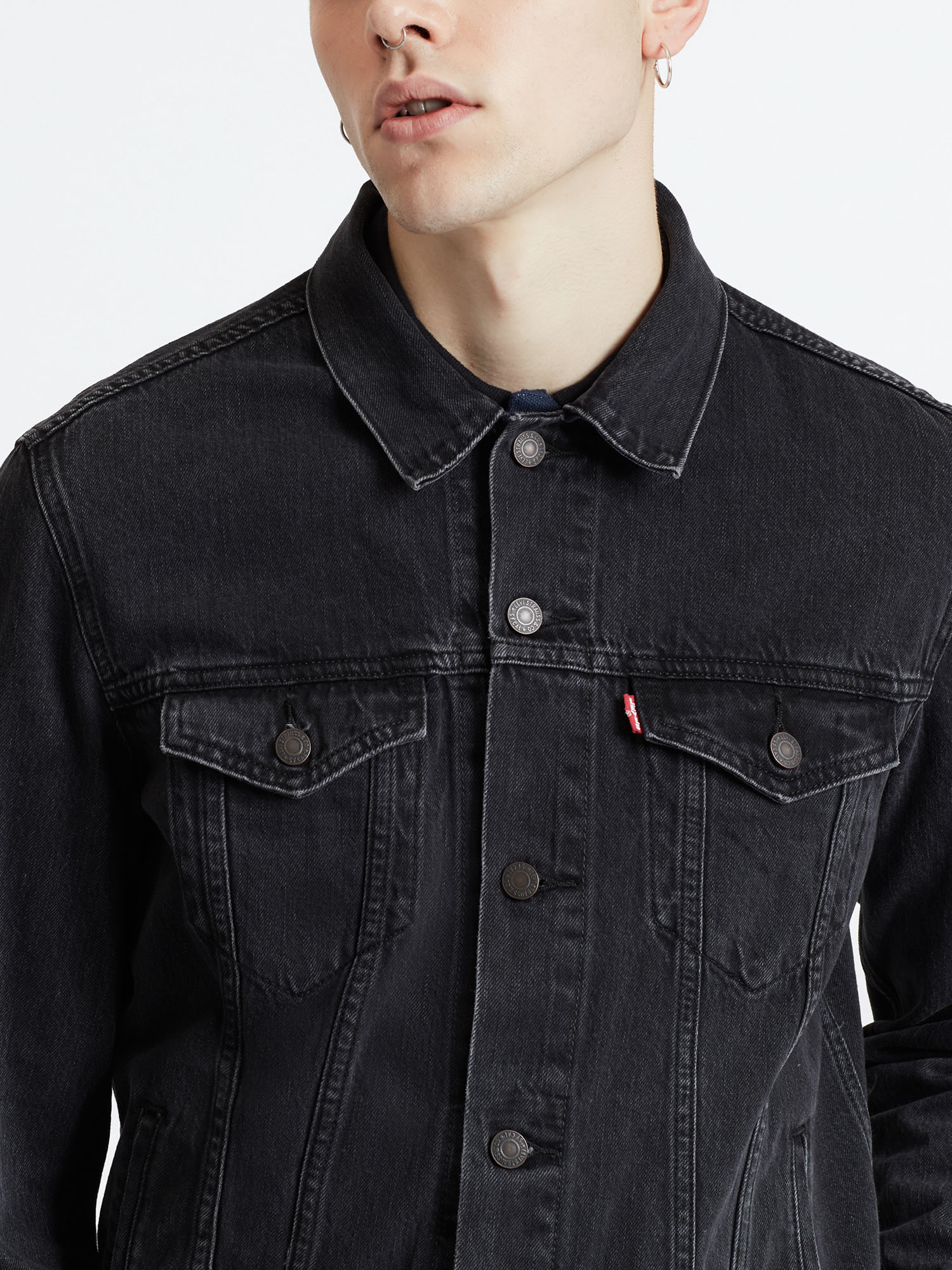 Bunda LEVI'S The Trucker Jacket Liquorice T (3)