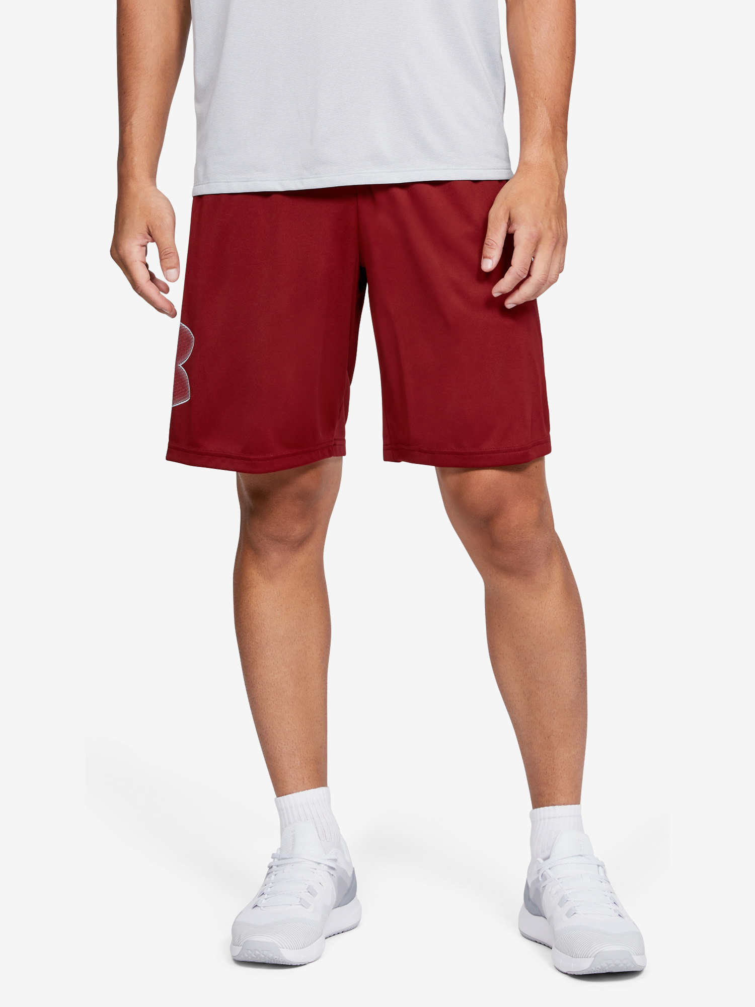 Kraťasy Under Armour Tech Graphic Short Červená
