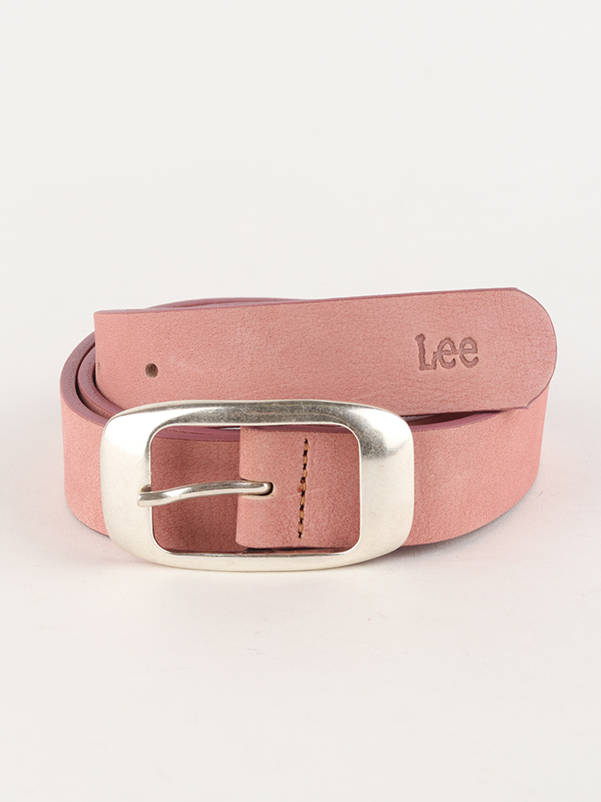 Opasok Lee Colourful Nubuck Bel Faded Pink (1)
