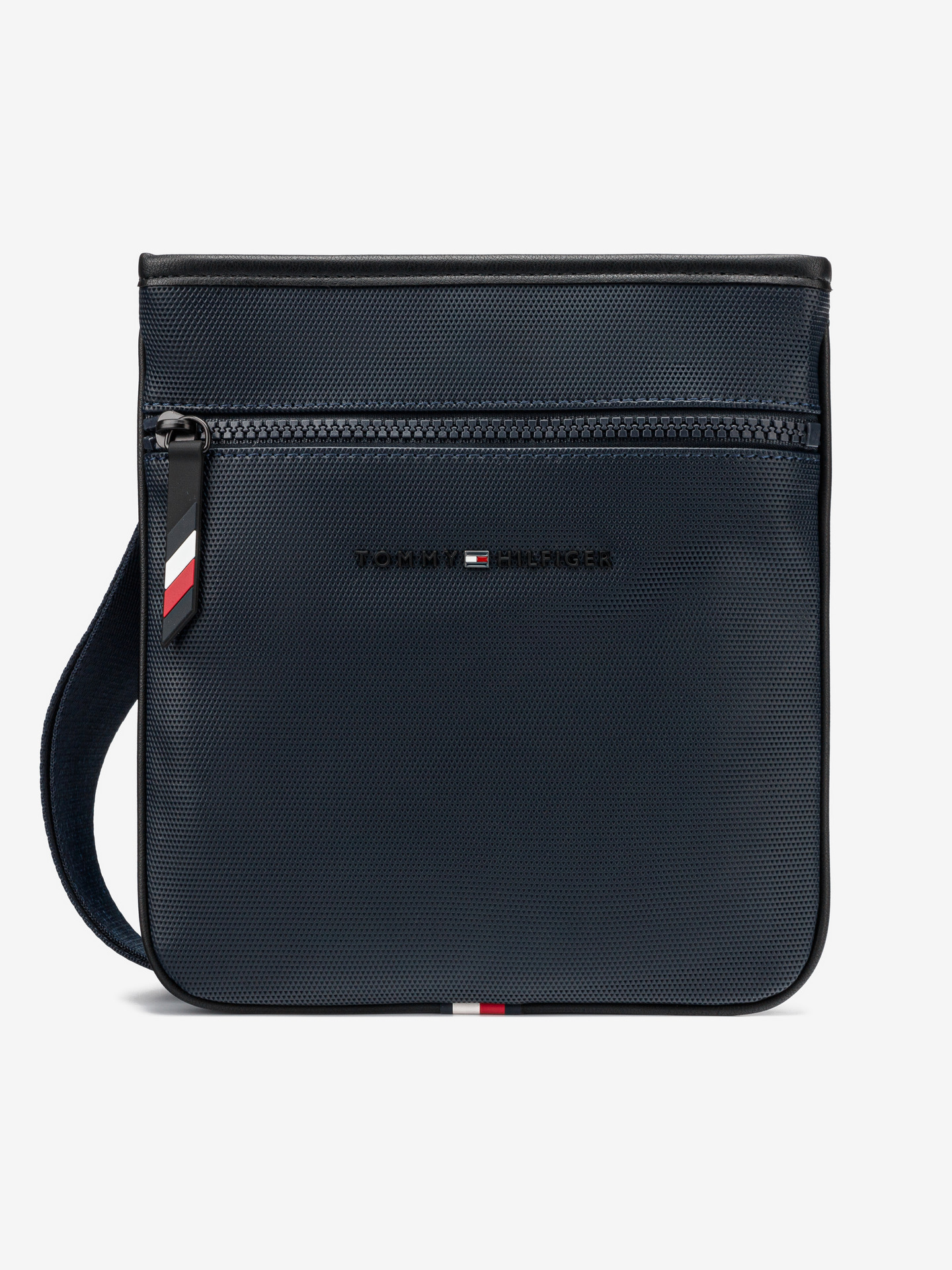 Essential Pique Mini Cross body bag Tommy Hilfiger Modrá