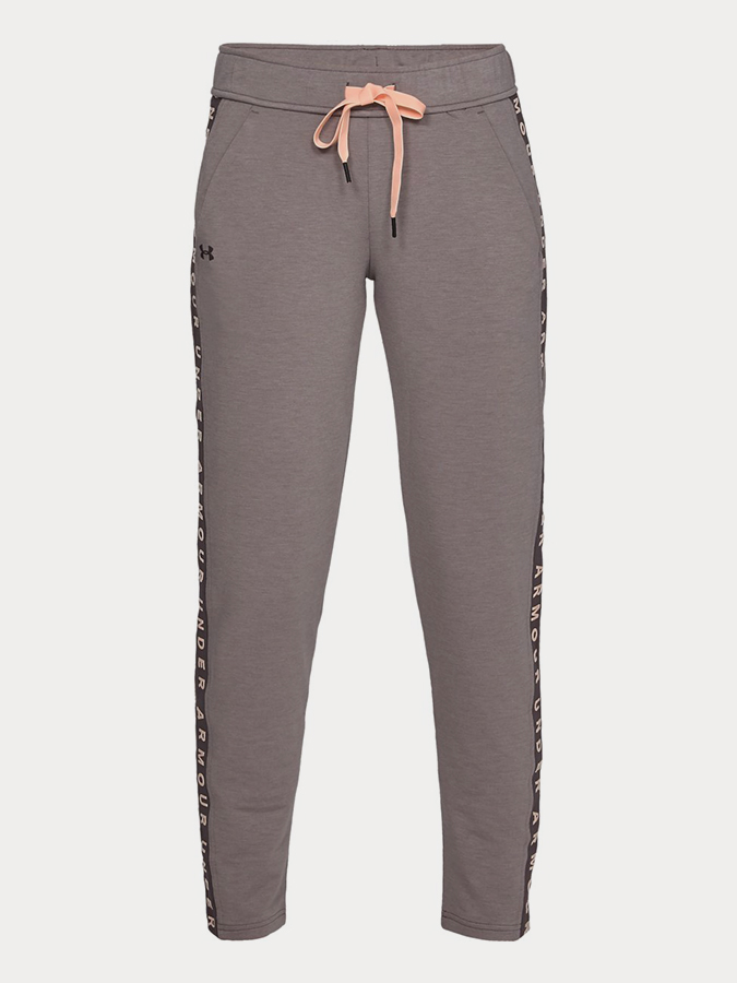 Tepláky Under Armour Featherweight Fleece Pant Šedá
