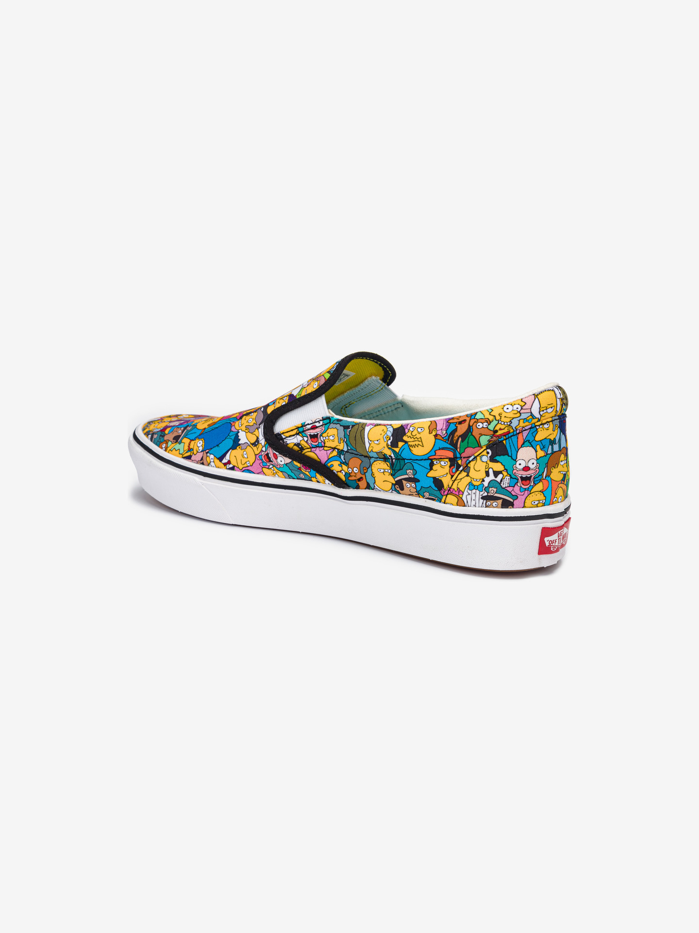 The Simpsons Comfycush Springfield Slip On Vans (3)
