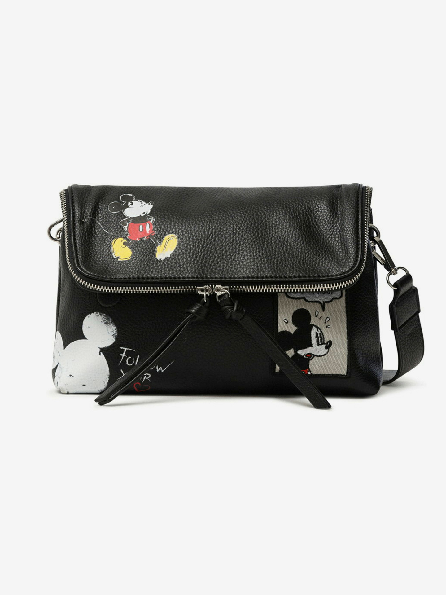 Mickey Rock Venecia Cross body bag Desigual Čierna