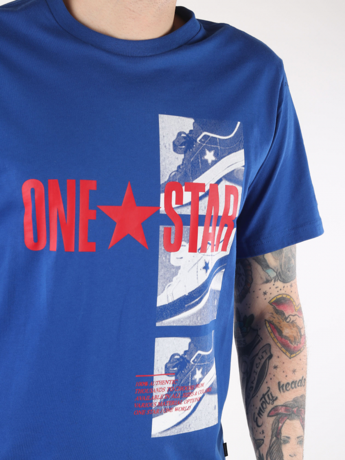 Tričko Converse M One Star Photo Short Slv Tee (3)