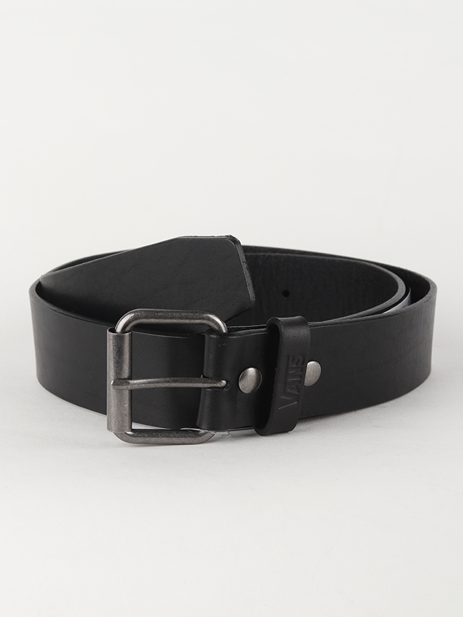 Opasok Vans Mn Vans Leather Belt Black (1)