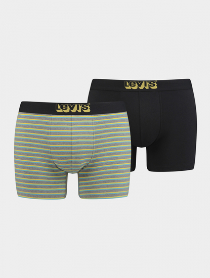 Boxerky LEVI'S 200Sf Triple Vintage Stripe Boxer Brief 2 Pack
