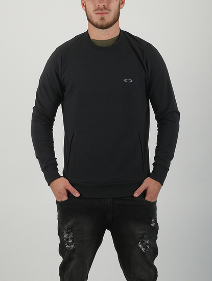 Mikina Oakley Link Crew Fleece Blackout